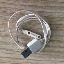 Free 24 hours Ship Out Original q100 q750 GT68 GT88 G3 KW18 Y3 KW88 Smart Watch Accessory Backup 4Pin Magnetic Charging Cable(China)