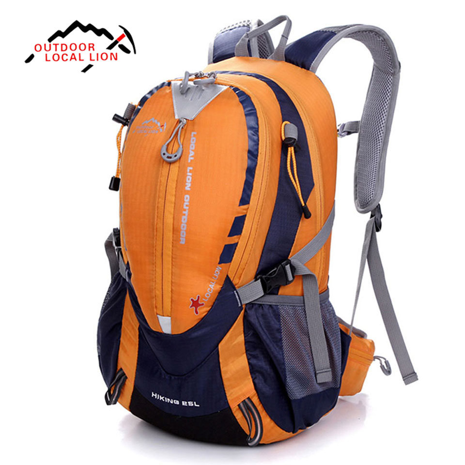 Local Lion Outdoor Cycling Backpack Riding Rucksacks Bicycle Road bag Bike Knapsack Sport Camping Hiking Backpack 25L