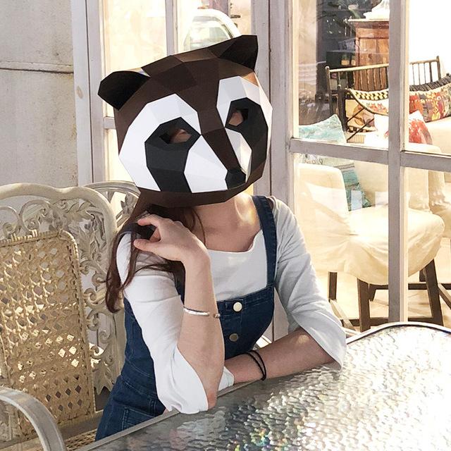 Animaux Panda – Paper Mask 3D Creative
