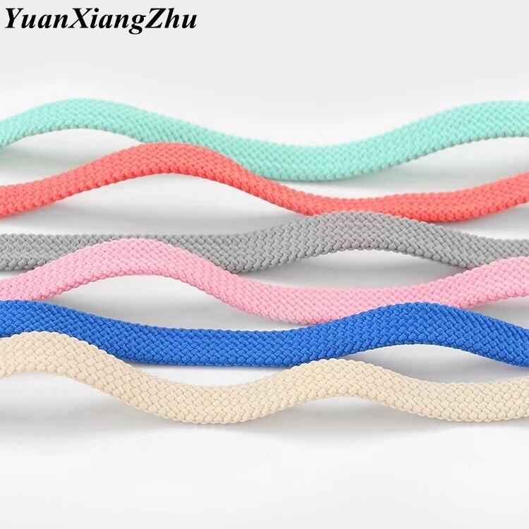 1pair 28colors Shoelace Classic Flat Double Hollow Woven Shoelaces 100CM / 120CM / 140CM / 160CM Sports Casual Shoes Laces
