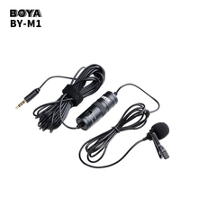 BOYA BY-M1 Lavalier Microphone for Smartphone Canon Nikon Sony Camera Studio Mic for Recorder iPhone X 8 7 6 Plus Zoom H1N Handy цена в Москве и Питере