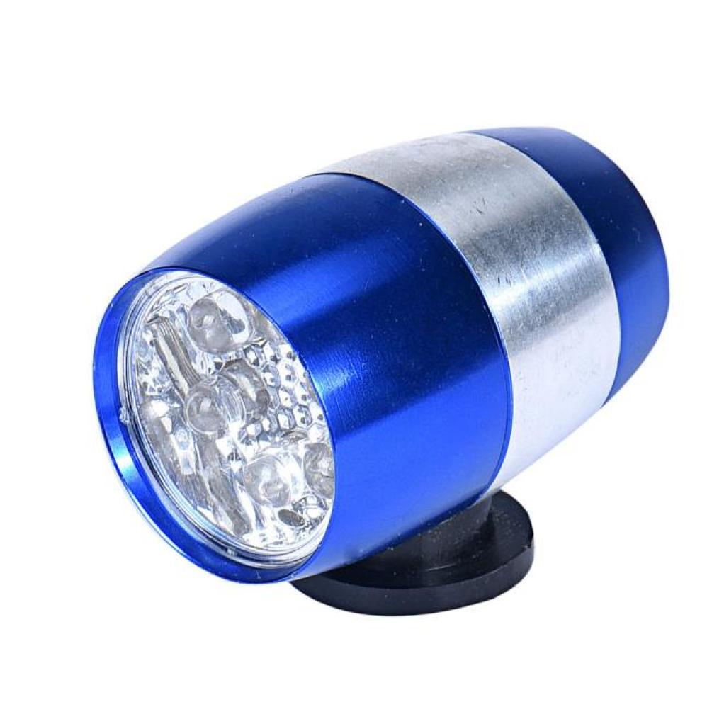 Timistar # 4001 Bright Waterproof Bike Cycling Head Lamp 6 LED Light Bicycle Flash Safety