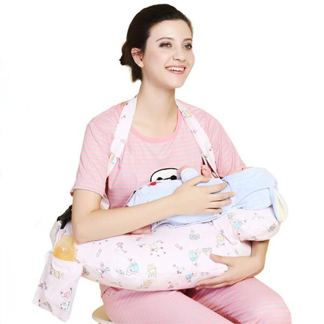 Destacável multifuncional Travesseiro De Enfermagem Amamentação Travesseiro Bebê Infantil Rastejando Aprendizagem Sentado Travesseiro
