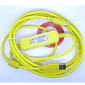 USB-DVP,USB-ACAB230 Programming Cable for Delta DVP series PLC,Support WIN7