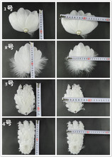 1pcs Diy Dual purpose feathers Headgear hair accessories hairpin Brooch wedding dress photography stage AC072