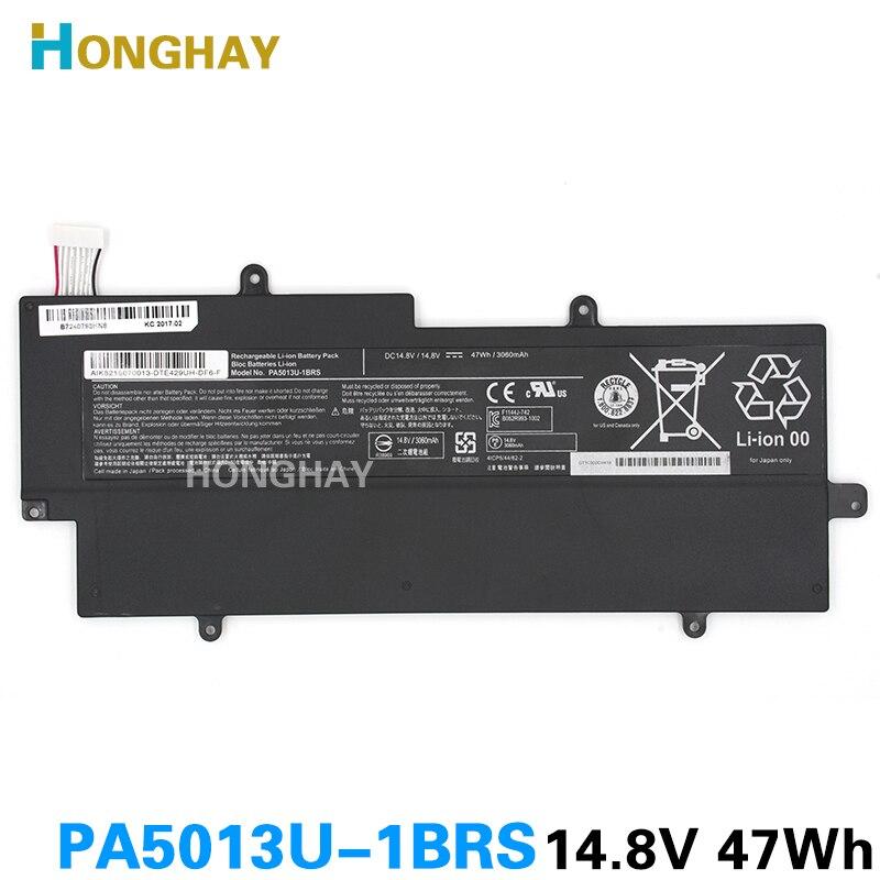HONGHAY Nouveau PA5013U-1BRS PA5013U Batterie Pour Toshiba Portege Z835 z830 Z930 Z935 Ultrabook PA5013 14.8 V 3060 mAh