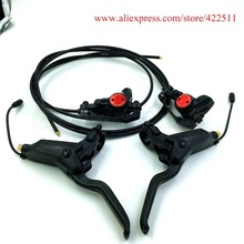 Buy online High Quality Scooter Hydraulic Brakes Hydraulic Disc Brake Caliper&Aluminium Brake Handle Lever (Scooter Spare Parts)