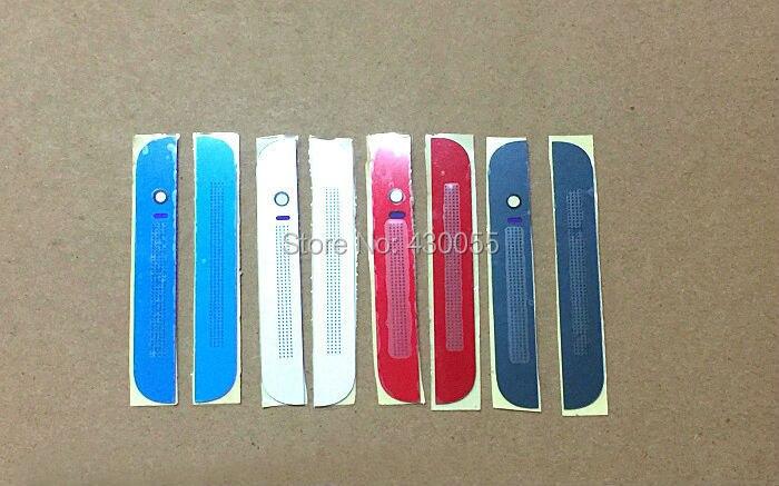 Noir/Blanc/Bleu/Rouge Nouveau Ymitn En Aluminium Top + Bas Bande Cas De Couverture De Logement avec lentille En Verre pour HTC Un E8 M8sw M8sd/st