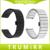 16mm 18mm 20mm Pulseira Universal Substituição Watch Band Implantação Borboleta Fivela de Liberação Rápida Cinta Ligação Pulseira de Prata