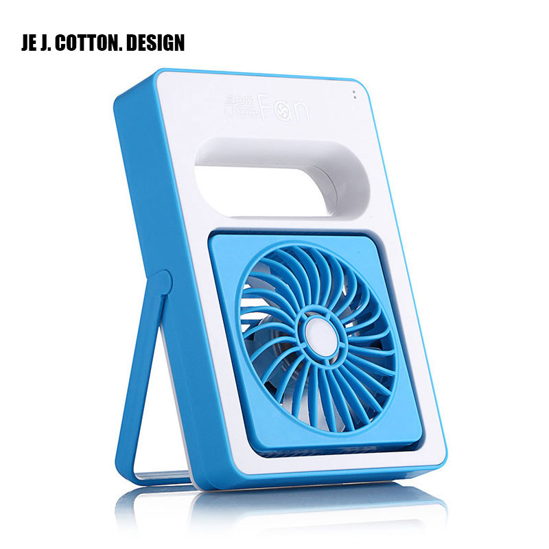 Portable Mini Fan Ventilator with Rechargeable Battery Handheld USB Fans for Home Outdoor Air Conditioning Conditioner Cooler super mute portable mini fan battery operated air cooling handheld fan small light multicolor electric personal fan ventilator