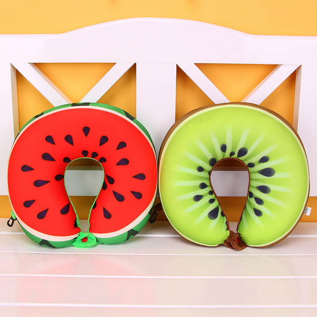 Travel Neck Pillow (Fruits)
