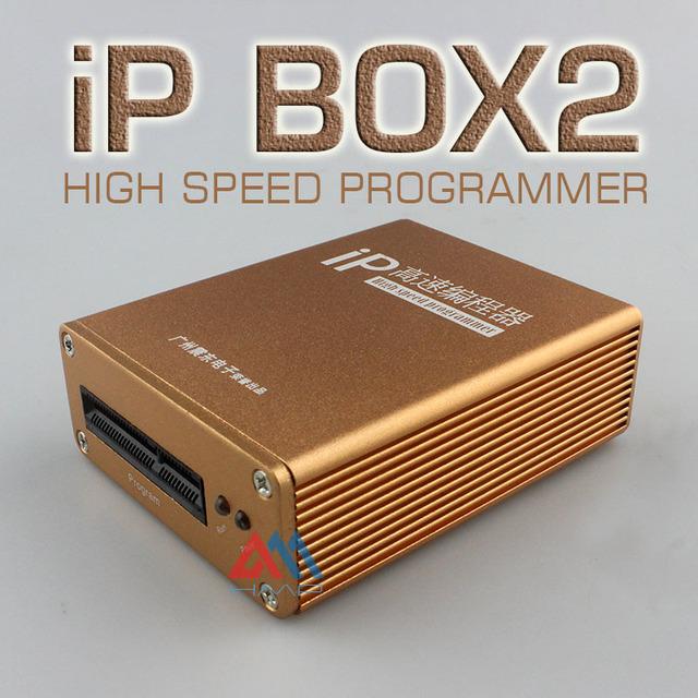 Caixa de Ip de alta velocidade programador Original Atualização Mais Recente quente IP-box2 para iphone & ipad caixa de software com adaptador e cabos Coupon