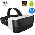 Все-в-ин 3D VR КОРОБКА ZV24 Виртуальной Реальности Видео Игры Очки Android Шлем Bluetooth WiFi 1280*720 P Экран HD Поддержка Карты ПАМЯТИ