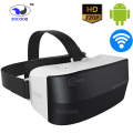 All-in-ine 3D VR BOX Virtual Reality ZV24 Video Game Glasses Android Helmet Bluetooth WiFi 1280*720P HD Screen Support TF Card