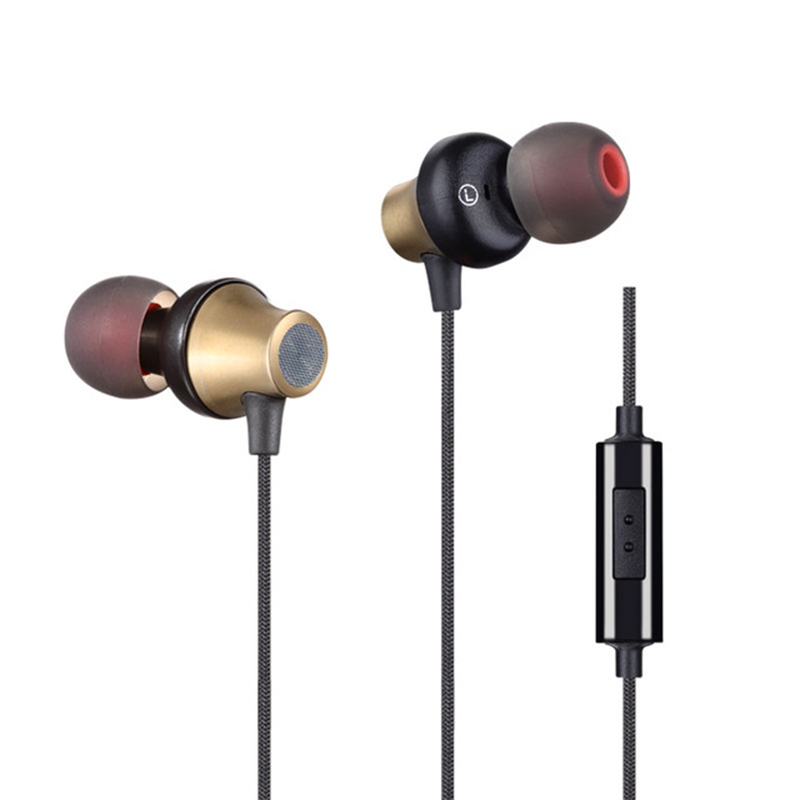 Earphone Phones Subwoofer Ear Earplugs Surround 3.5mm Headset For Samsung For HTC With Microphone High Quality original xiaomi hybrid earphone 1more mi headphones headset 2 unit in ear circle iron mixed piston 4 for iphone samsung lg htc