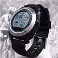 2017 novos esportes s928 smartwatch ip66 smart watch relógio gps ao ar livre real-time monitor de freqüência cardíaca pulseira inteligente para android ios