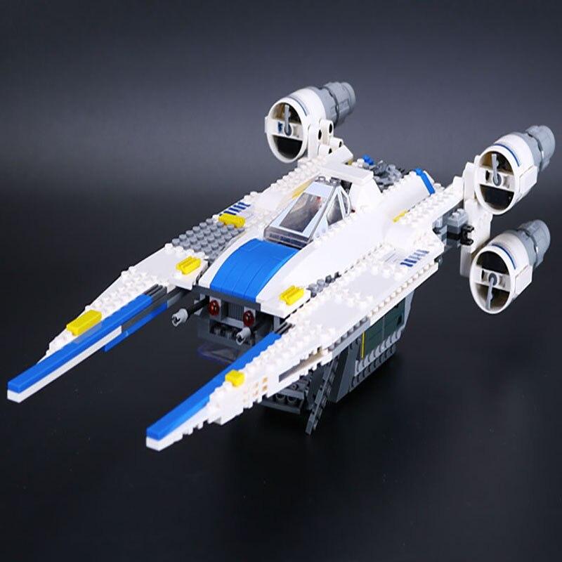 679pcs Lepin 05054 Genuine Star Series War The  U model Wing Fighter Set Building Blocks Bricks Educational Funny Gift Toy 75155