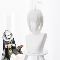 New Fate/stay Night Saber Alter Wig 30 Cm Short Straight Heat Resistant Synthetic Hair Wig for Halloween Party Clip In Hair Bun