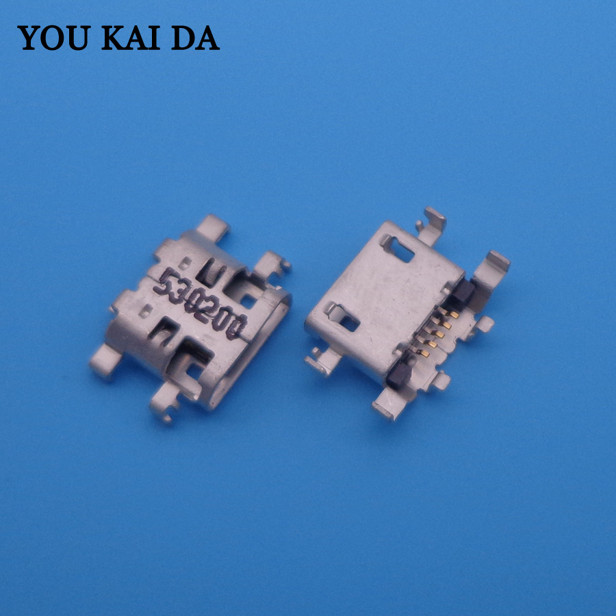 5pcs Micro USB Jack Charger Charging Port Socket Connector Dock Plug For LENOVO A8-50 A5500-HV A5500 A5500H 8
