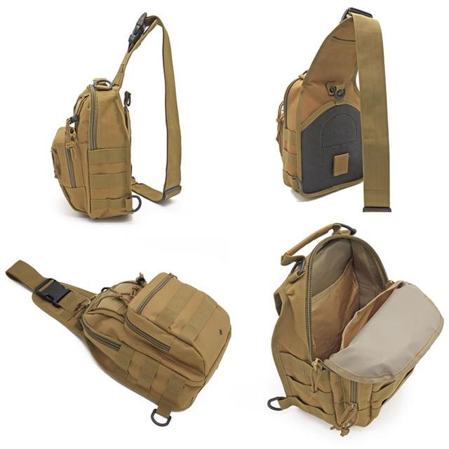 Hiking Trekking Backpack Sports Climbing Shoulder Bags Tactical Camping Hunting Daypack Fishing Outdoor Military Shoulder Bag 5