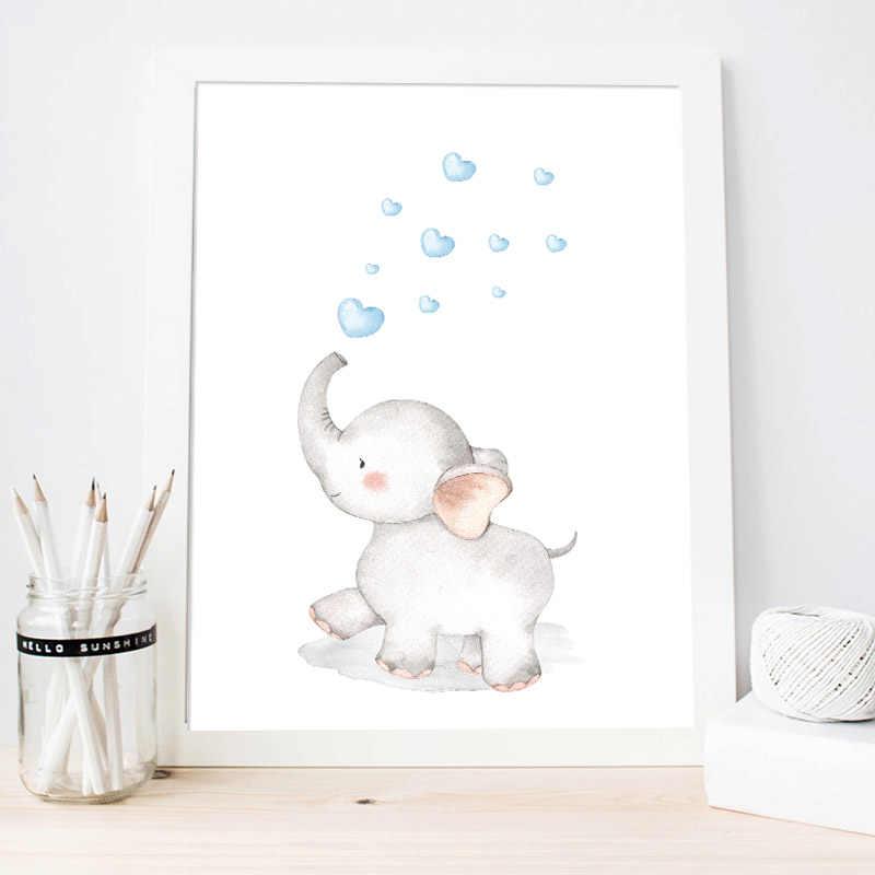 Baby Nursery Wall Art Canvas Painting