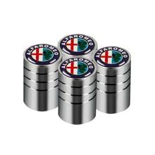4 шт. чехол для автомобильных колесных шин для Alfa Romeo 159 147 156 Giulietta 147 159 Mito KEYRING Car Accessori