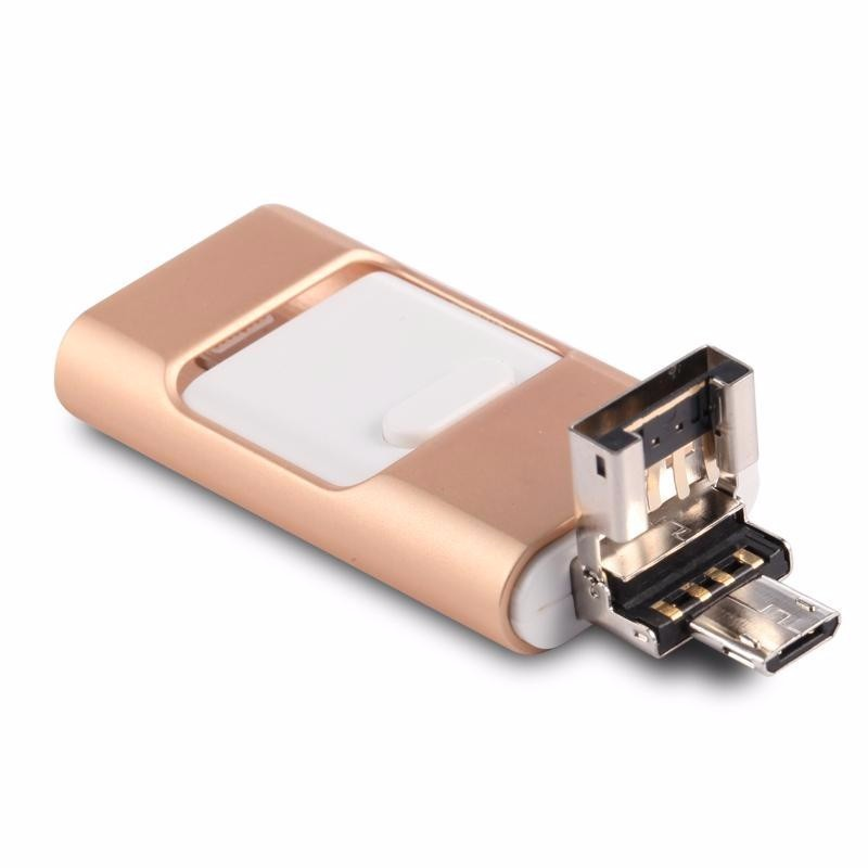 Hot sale external storage 16GB USB 2 0 otg micro 3 in 1 multifuntion usb flash