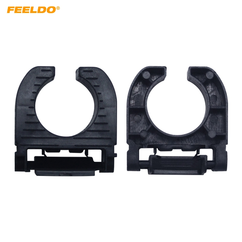 Car Lights Base Methodical Feeldo 2x Auto Hid Xenon Bulb Holder Base H7 Low Beam Bracket Retainers Adapter Sockets For Ford Mondeo #5549