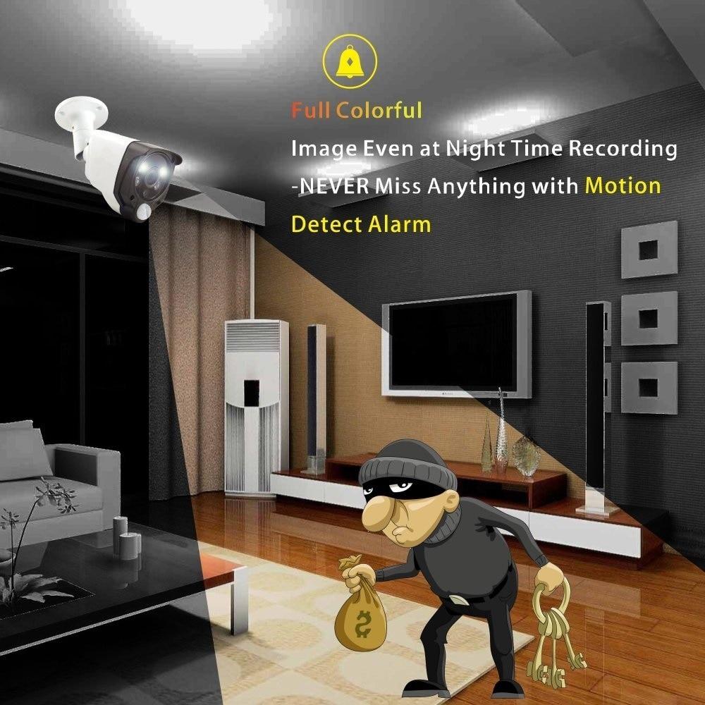 motion alarm bullet camera
