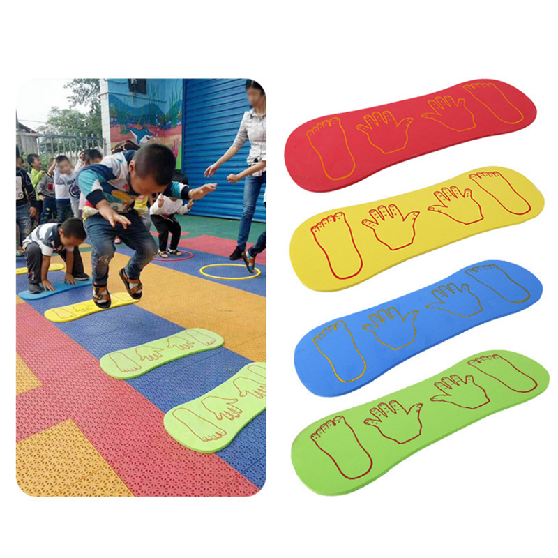 Kids Tactile Play Mat Outdoor Games Hand And Feet Placement Mat Sensory Integration Toys For Children