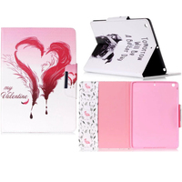 Stand Cover For IPad 5 Air Luxury Standing Smart Leather PU Pink Colors Cases For Funda