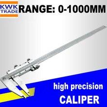 Суппорт 1000 мм Большой дальний метрический 0-1000 мм верньерный Калибр Штангенциркули из нержавеющей стали микрометр измерительные инструменты высокая точность