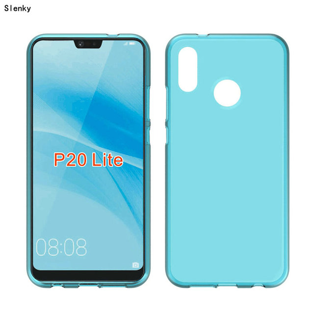 quality design 2b8f6 cfd10 US $1.75 |New Soft TPU Silicon Gel case cover For Huawei P20 Lite Phone-in  Half-wrapped Case from Cellphones & Telecommunications on Aliexpress.com |  ...