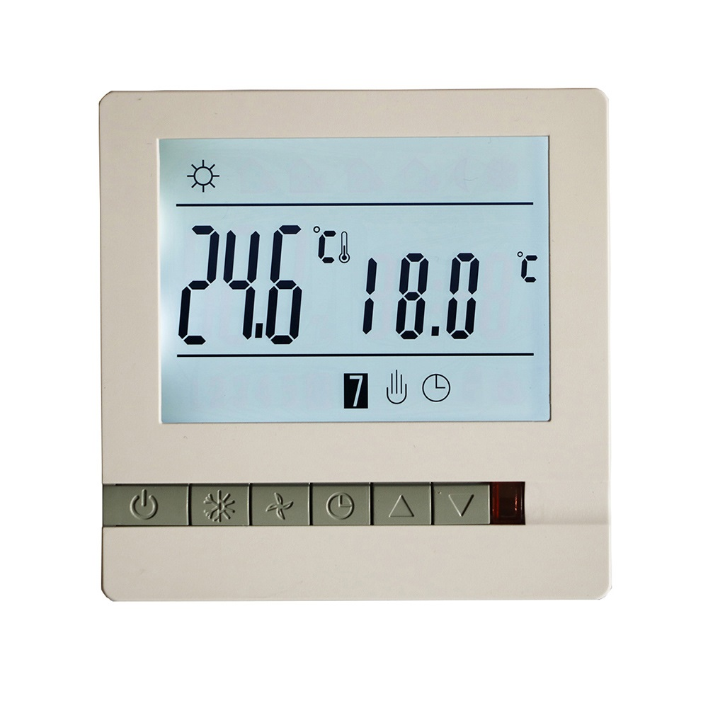 Big Promotion 220V 16A LCD Programmable WiFi Floor Heating Room Thermostat Room Temperature Controller(China)