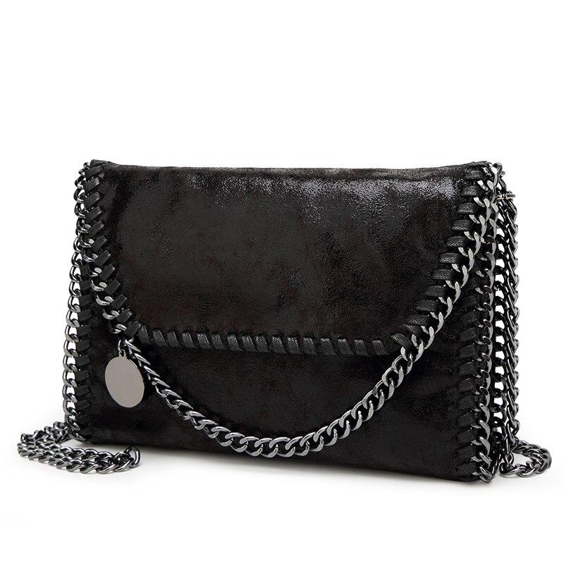 749243c8cb5b Купить Модные женские дизайн цепочкой через плечо сумка женская сумка клатч  bolsa franja Роскошные вечерние сумки LB148 Цена Дешево.