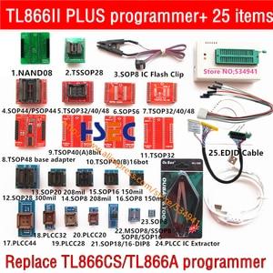 Image 4 - Programmatore Minipro universale TL866II Plus 100% originale con adattatori Clip di prova programmatore ad alta velocità TL866 PIC Bios