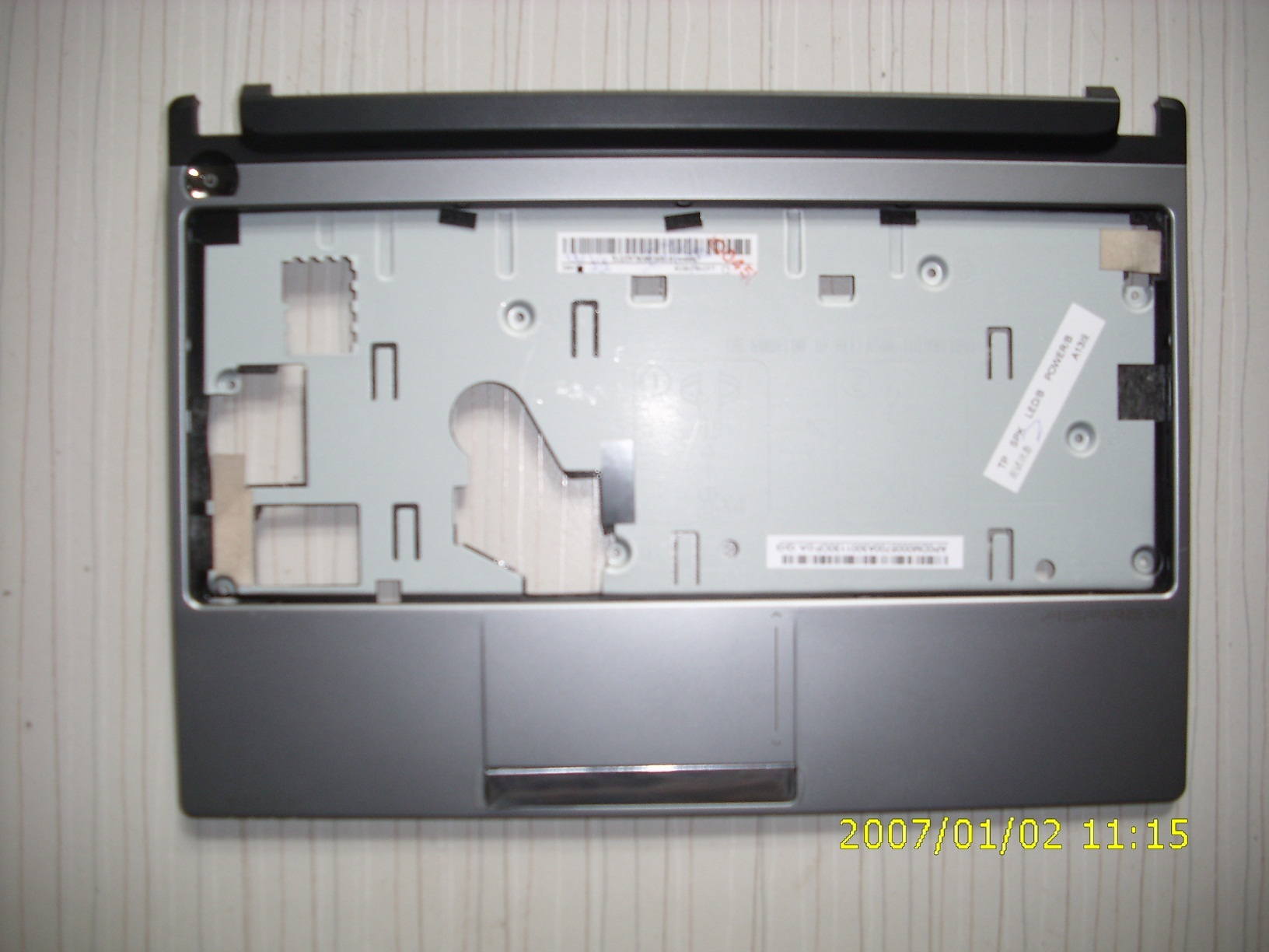 FOR ACER FOR Aspire one D255 D260 Palmrest C shell