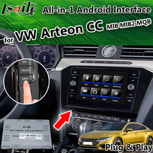 Все-в-1 Android 6,0/8,0 gps-навигатор для Volkswagen CC/Arteon MQB MIB видео интерфейс Поддержка Android Авто CarPlay