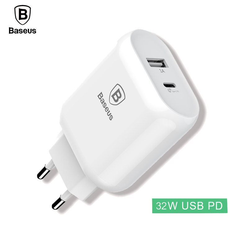 Baseus 32W Type C PD Fast Charging USB Charger