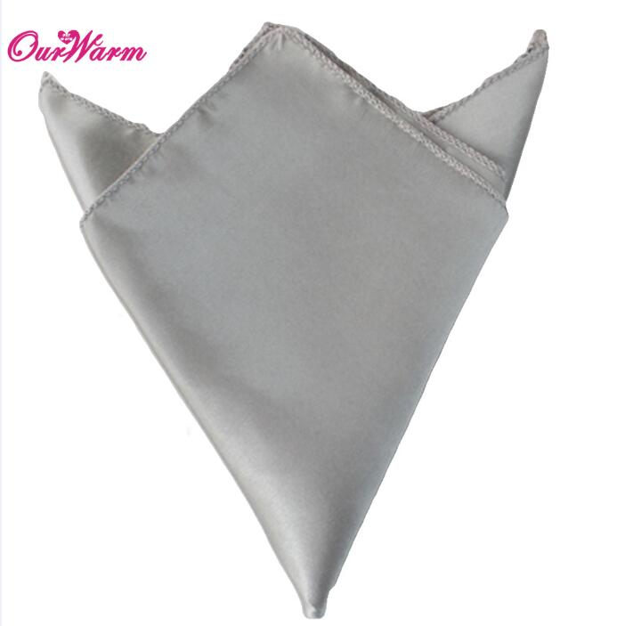 OurWarm 50 шт. атласная ткань салфетки для стола квадратная карманная салфетка для ресторана отеля банкета свадебного стола 30*30 см - Цвет: DSI