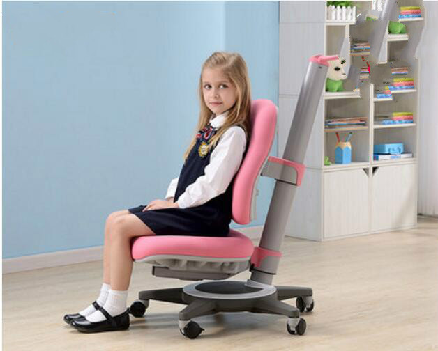 Children learning chair posture correcting chair liftable rotatable writting chair