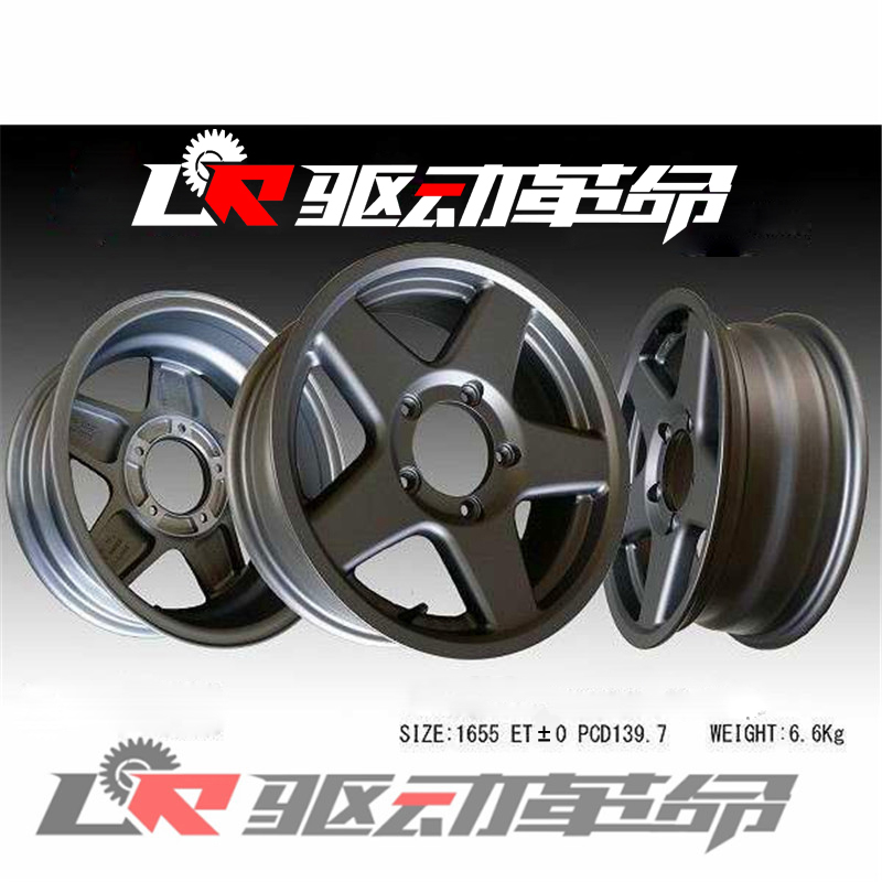 16inch ET0 Jimny Off Road JB43 Tuning Parts Alloy Wheel Rims Car Styling image