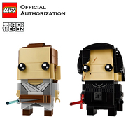 LEGO Building Blocks Toys Brick Headz Series Jedi Warrior Toy lego Model Start Wars Little Doll Block Brinquedos