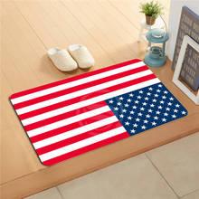 U &! 65 la bandera Nacional de Encargo # p Felpudo Decoración Puerta Floor mat Alfombra de Baño Esteras cojín del pie T-725Ad65