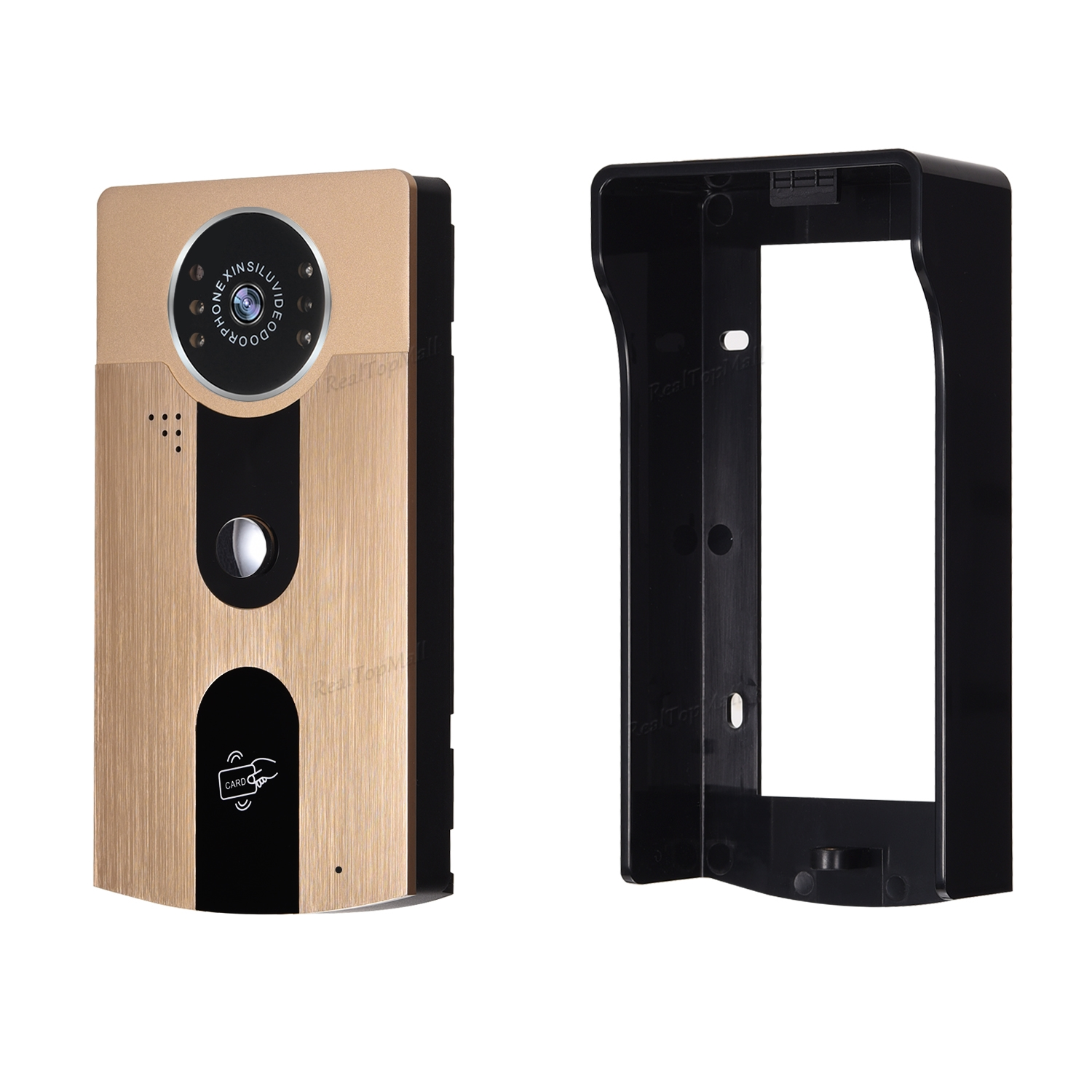 New 3G/4G Wireless Wifi Doorbell HD Camera For IOS Android Phone Remote View Unlock Metal RFID Door Intercom Free Shipping 2016 new wifi doorbell video door phone support 3g 4g ios android for ipad smart phone tablet control wireless door intercom