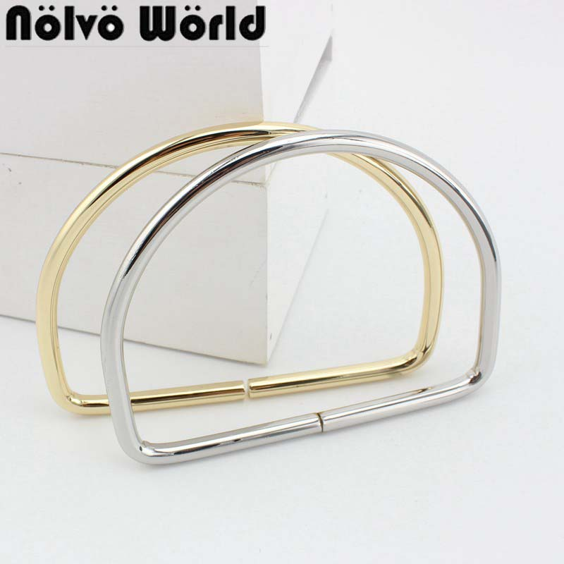 6.0 line D Rings 105mm inside for strap ring bags bags handle Pants Connect handmade alloy metal