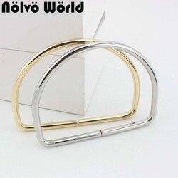 6,0 linie D Ringe 105mm innen für strap ring taschen taschen griff Hosen Verbinden handgemachte legierung metall
