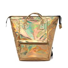 2019 New Women Girls Holographic Backpack Shoulder School Bookbag Travel Bag Rucksack