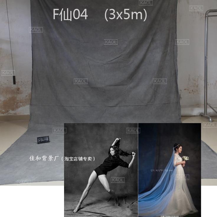 2018 cravate teints mousseline fond de mariage décors pour studio de photographie peint à la main famille portrait toile de fond photographique F04