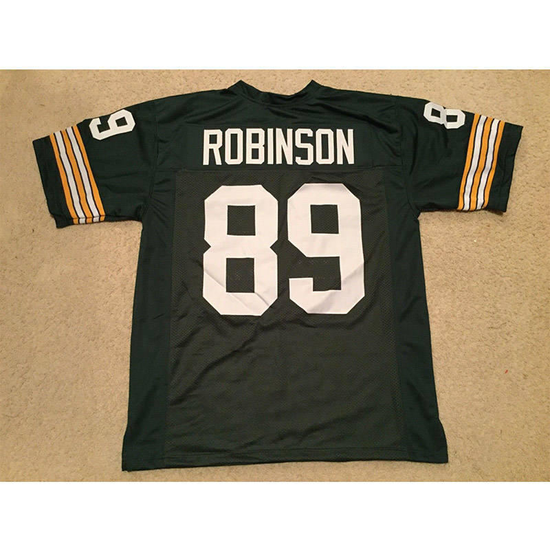 Mens Retro Dave Robinson Stitched Name&Number Throwback Football Jerseys [UNSIGNED NO LOGOS OR EMBLEMS]